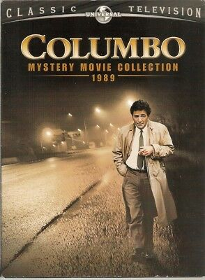 Columbo: Mystery Movie Collection 1989 DVD 2007 3-Disc Universal NO Slipcover