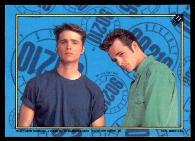 C1397 Dylan Luke Perry #2 Beverly Hills 90210 Topps 1991 Sticker