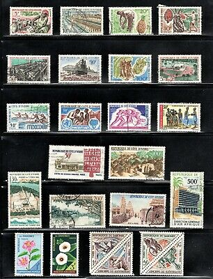 Hick Girl Stamp- Beautiful Used Ivory Coast  Stamp  Assortment      L785