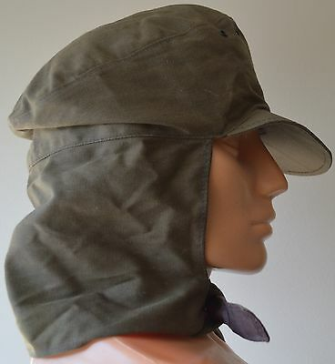 VINTAGE Russian Soviet Union USSR Army Military Officer Summer Cap Size 58