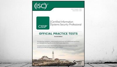 Cissp Official (isc)2 Practice Tests by Mike Chapple Paperback Book