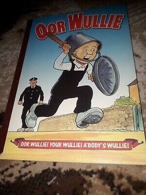 Oor Wullie Annual from 2002; DC Thompson, Good Condition,