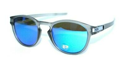 814de10b46 Oakley Latch OO9265-08 53.21 139 Matte Grey w Sapphire Blue Polarized Lenses