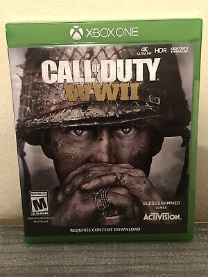 CALL OF DUTY WWII ((Xbox One)) Excellent Condition