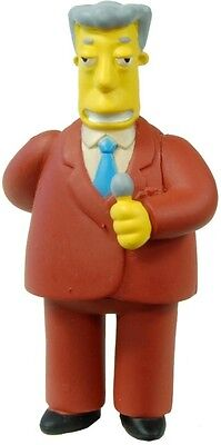 Simpsons 20th Estatuillas Serie 11-15 Kent Brockman Figura (con / Etiqueta)