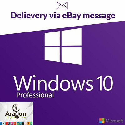 Genuine Windows 10 Professional Pro Key win 10 Activation License Instant Code