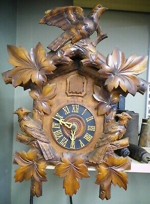 Antique or Vintage Cuckoo Clock - As-Is - Untested