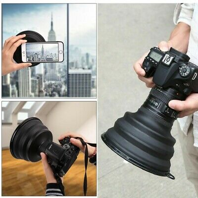 Ultimate Lens Hood Silicone Anti-Reflective Camera Image Video Photographer Gift