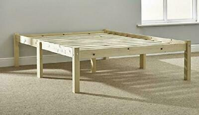 Kingsize Bed Studio 5ft Bed Wooden Frame with extra wide base slats and centre r