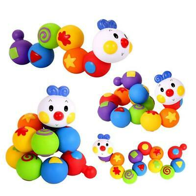 13pcs Baby Soft Rubber Building Blocks Kids Early Education Toys 0-3 Years Old