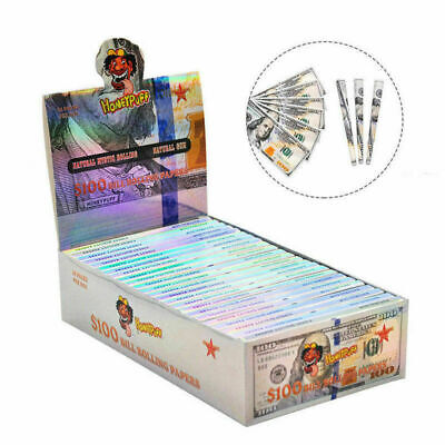24Pcs $100 Dollar Bill Rolling Papers Dollar Cigarette Pretty Lovely Design