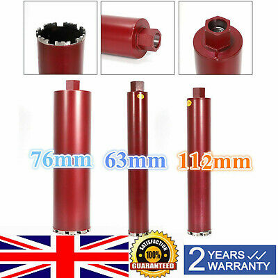 Professional Dry and Wet Diamond Core Drill Bits Bit Drilling Accessories Tool