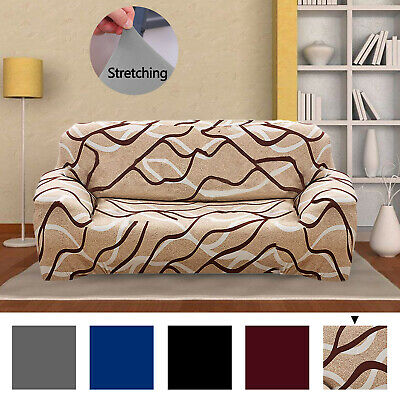 3 Seater Stretch Chair Sofa Covers Couch Cover Elastic Slipcover Protector 2019