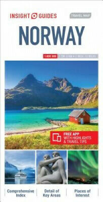 Insight Guides Travel Map Norway (Insight Travel Maps) by Insight Guides.