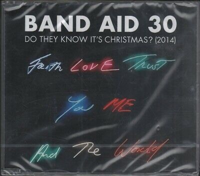BAND AID 30 Do They Know It'S Christmas 2014  CD 4 Tracks, Do They Know It'S Chr
