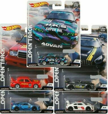 Hot Wheels 2019 Car Culture Open Track - 5 Car Set - Fpy86-956H - Pre Order ~
