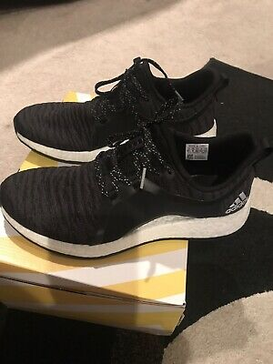 cf345d536 ADIDAS PURE BOOST X Element Women s Shoes Black And White Size 9.5 ...