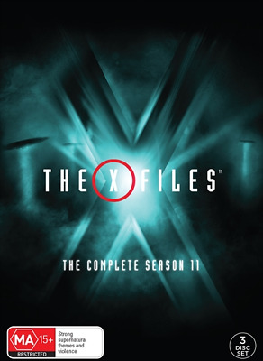 The X-Files : Season 11 (DVD, 3-Disc Set) NEW