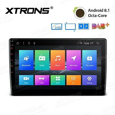 """10.1"""" Android 8.1 Octa-Core 32GB ROM + 2GB RAM 2-DIN Rotatable Face - TM100L"""