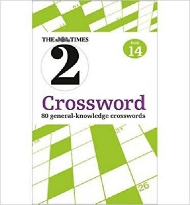 The Times Quick Crossword Book 14 (The Times) NEW Paperback Puzzle Book