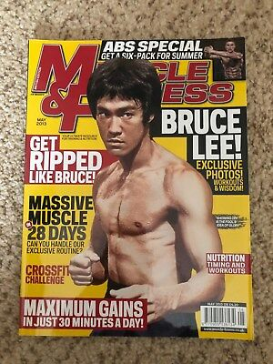 Bruce Lee Limited Edition Muscle & Fitness magazine May 2013 British Edition