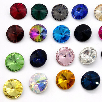 Wholesale XILION ELEMENTS Crystal Rivoli glass Beads DIY 10mm12mm14mm16mm18mm