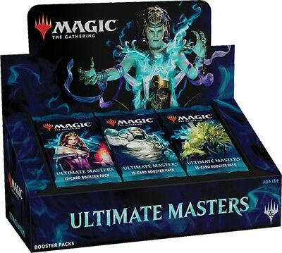 Ultimate Masters Booster Box Display OVP - ohne Box Topper