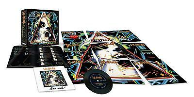 "Def Leppard-The Hysteria Singles (Limited 7"" Vinyl Box)  10 Vinyl Lp Single New"