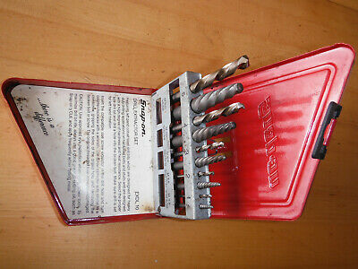 Snap On Tools EXDL10 Left Hand Cobalt Drill Extractor Set