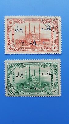 old stamps turkey