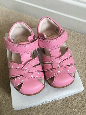 039a48bdb449 CLARKS GIRLS SOFTLY Nia FST girls walking walkers shoes pale pink ...