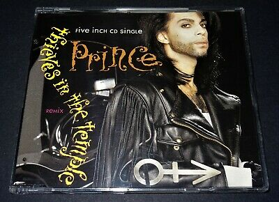 Prince - Thieves In The Temple Remix . 3 Tracks CD Single Excellent !!!