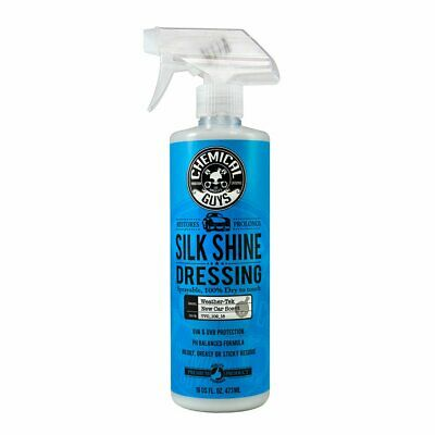Silk Shine Dressing Sprayable Chemical Guys 16oz Interior Clean Care Protect ...