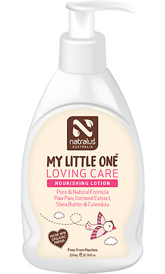Natralus My Little One Loving Care Nourishing Lotion 200ml Natural