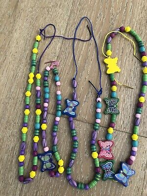 Wooden Beads And String - Great For Hand Eye Coordination For Kids