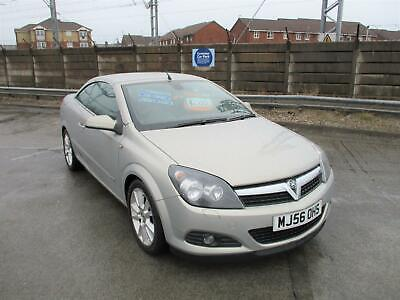 56 Plate Vauxhall Astra 1.8 Twin Top Design