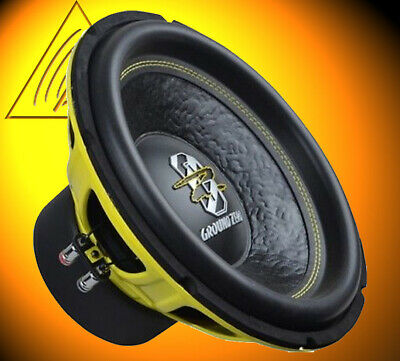 Ground Zero GZIW 12SPL 30cm Subwoofer 2 x 2 OHM 1000 W SPL 500 WRMS High End