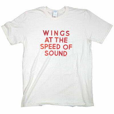 Paul McCartney & Wings T Shirt - Wings At The Speed Of Sound 100% Official