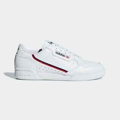 Adidas ORIGINALS - CONTINENTAL 80 SHOES - UNISEX RETRO SNEAKERS - WHITE [G27706]