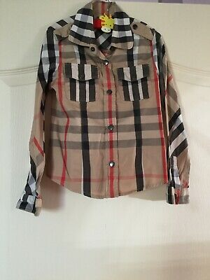 39a2fe15cee CHEMISE BURBERRY FILLE - EUR 40