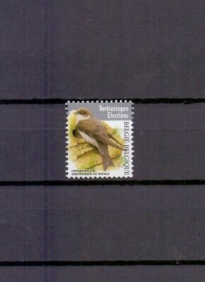Belgium 2019 Bank Swallow Buzin Bird Mnh**
