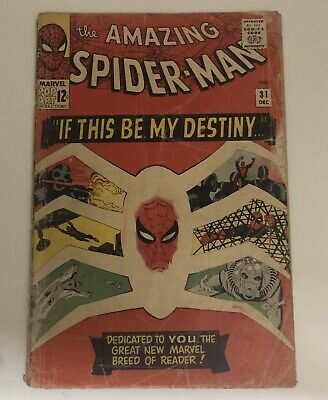 Amazing Spider-Man #31 - 1st Appearance of Gwen Stacey Marvel Comics