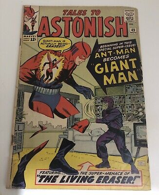 Tales To Astonish #49 First Appearance GiantMan Wasp Ant Man Movie Marvel Comics