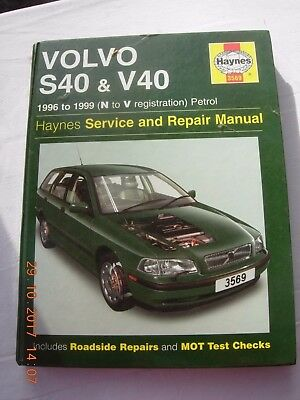 volvo s40 v40 1996 repair service manual