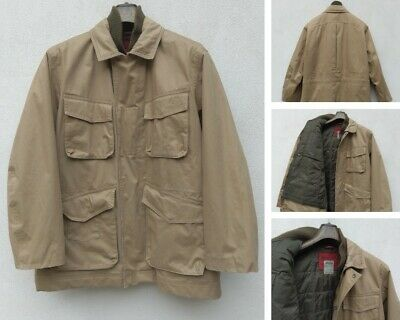 Giacca TIMBERLAND Uomo Giubbotto con Imbottitura Cappotto Trench Tg XL  Marrone 870899b3b1d