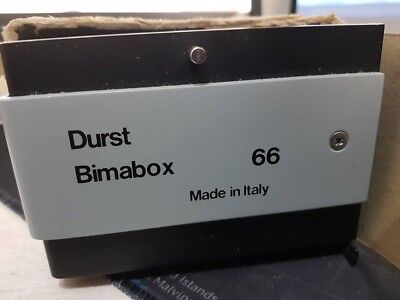 Durst Bimabox 66 diffuser box with spare diffuser glass.
