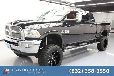 2015 Ram 2500 Longhorn Texas Direct Auto 2015 Longhorn Used Turbo 6.7L I6 24V Automatic 4WD Pickup