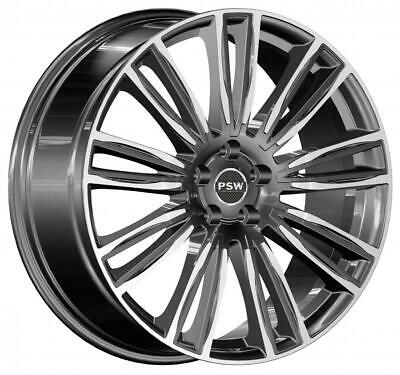 """4 Cerchi In Lega 20"""" Psw Austin Land Rover Discovery Sport Antracite Polished"""