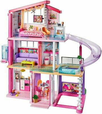 Barbie Dreamhouse New! with 70+ Accessory Pieces Dream Playset Doll House Girls