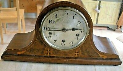 Vintage Mantle Clock Kemp Union St Bristol Working